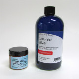 Introductory Special - Combo Burn Genie & Silver in a Bottle - FREE U.S. SHIPPING!