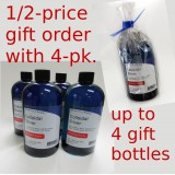 GIFT SPECIAL - Buy a 4-pack; Send a gift order of 1 bottle 1/2-price.