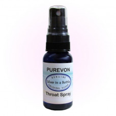 Throat Spray, 1 fl. oz. - Ships FREE in U.S. with any colloidal silver order!*
