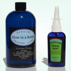 Introductory Special - Combo Nasal Mist & Silver in a Bottle - FREE U.S. SHIPPING!